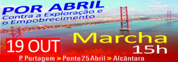 Marcha 19 out ponte